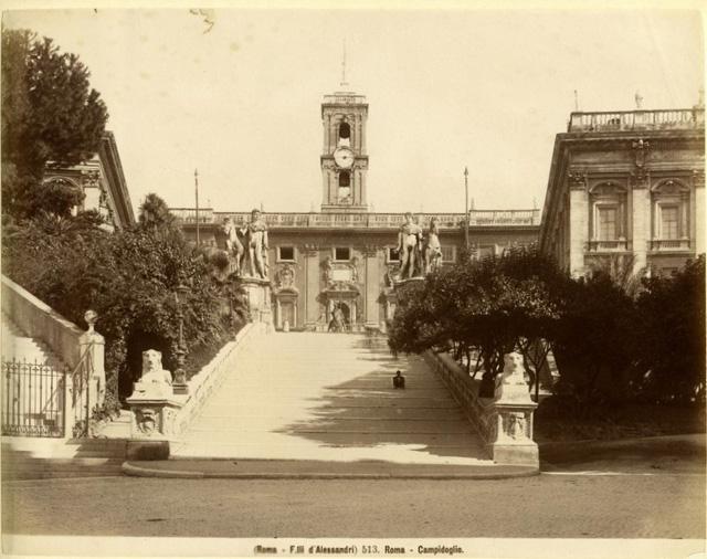 Rome Campidoglio 1880s
