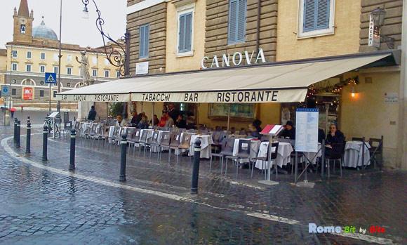 Caffe Canova Rome