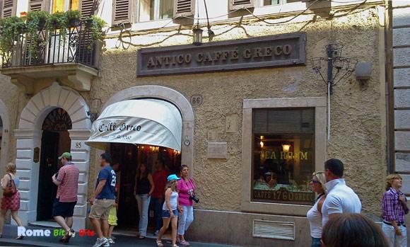 Caffe Greco Rome