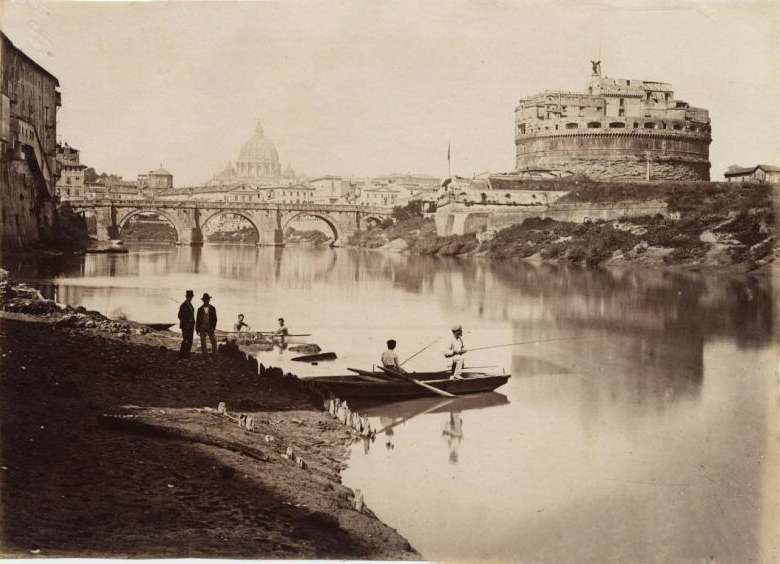 Castel Sant'Angelo Rome vintage photo