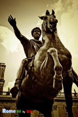 Statue of Marcus Aurelius at the Campidoglio