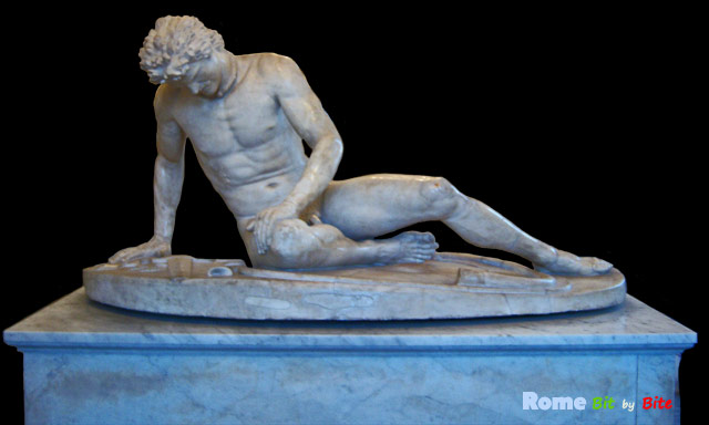 Dying Gaul in the Museo Capitolino. Photo © Rome Bit by Bite.