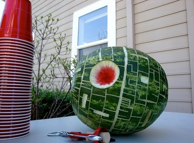 DeathStar watermelon
