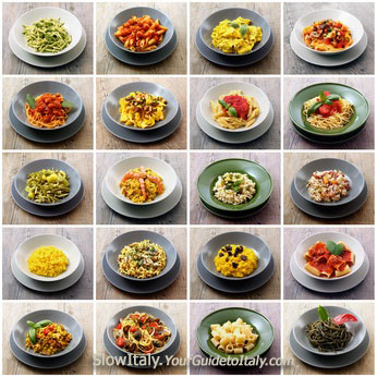 20 different pasta dishes