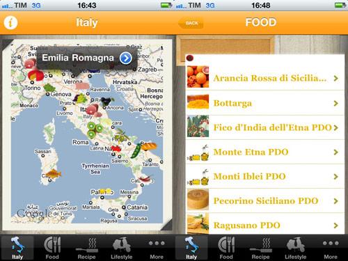 Italian food app