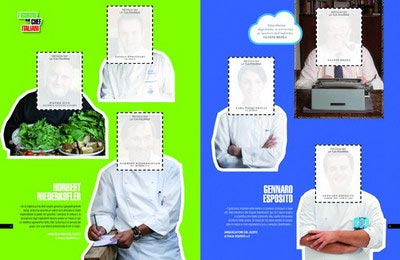 Italian chefs picture cards