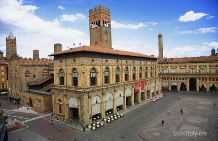 Bologna Palazzo del Podesta