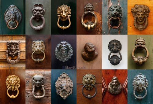 Door knobs in Italy