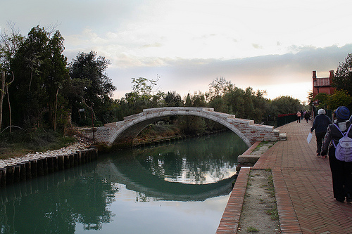 Devil's bridge, Venice