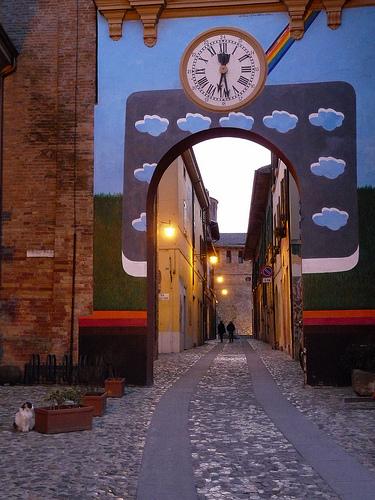 Dozza mural