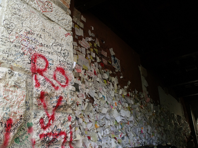 Love wall in Verona