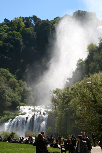 Marmore waterfalls, Umbria