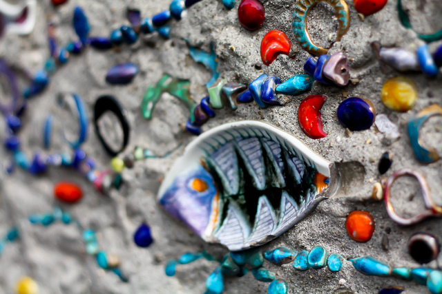 Beaded fish of Capri