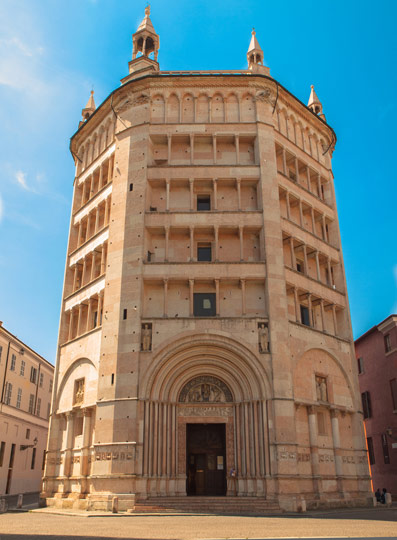 Image result for baptistery parma