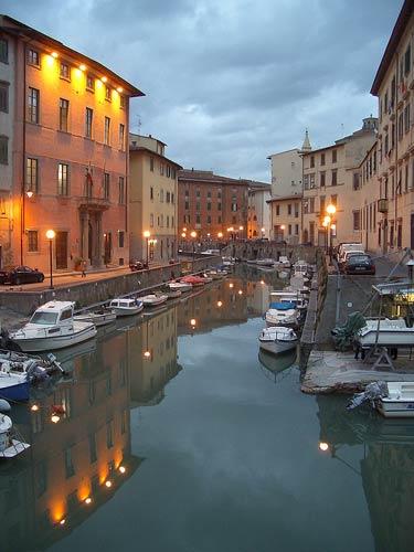 Venezia Nuova, the fascinating historic district of Livorno (Tuscany)