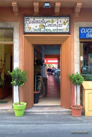 ristorante l'Incontro, Taormina