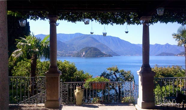 View over bellagio from villa cipresi in varenna photo 169 slow italy