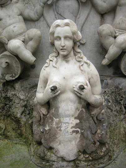 Best of Huge Lactating Breasts Statue