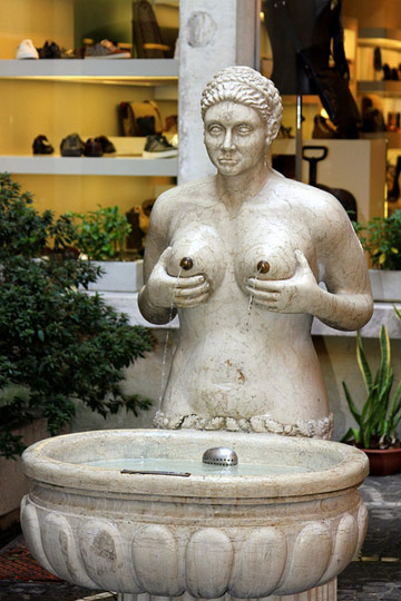Willy recommend best of huge breasts statue lactating