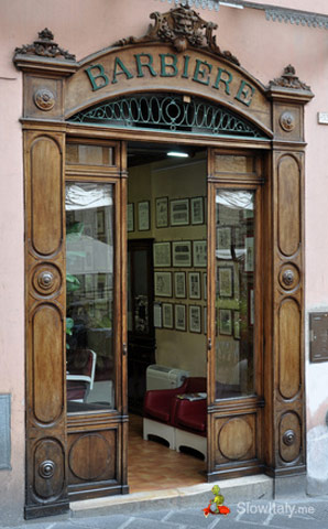Old barber's shop, Todi. Photo © hal_pand_108/Fotolia.com