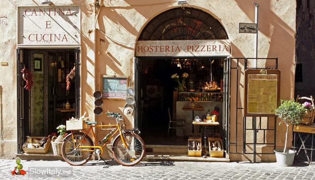 Via del Governo Vecchio, Rome. Photo © Slow Italy.