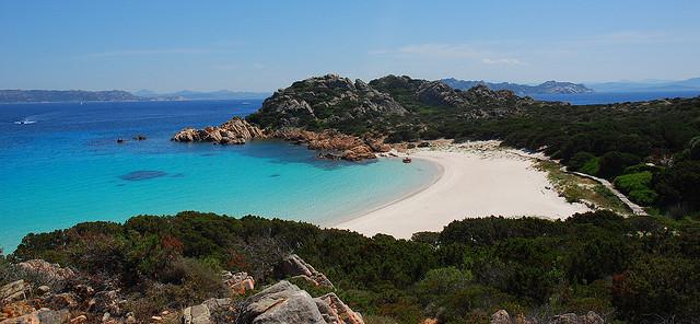budelli island, spiaggia rosa