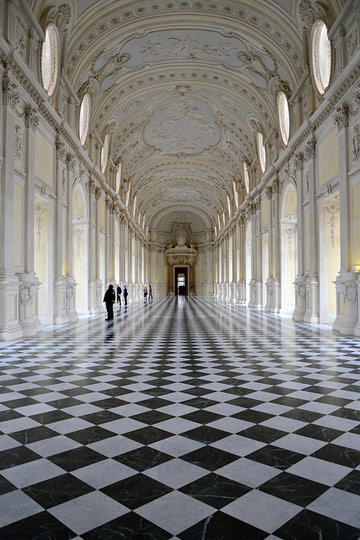 Galleria Grande of the Palace of Venaria, Turin