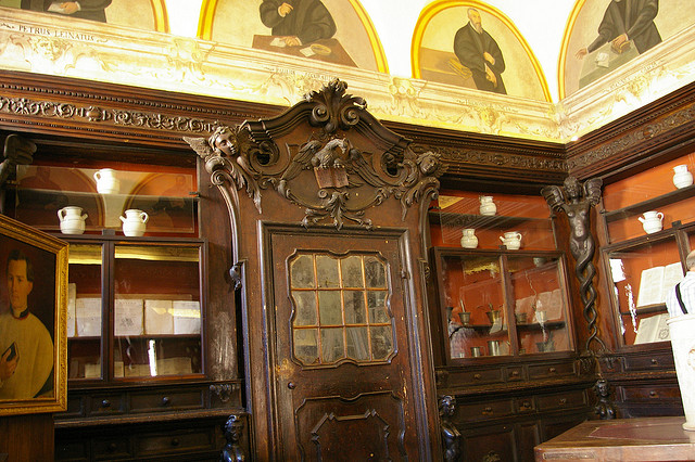 Historic spice shop (spezieria) San Giovanni Evangelista