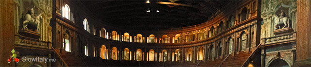 Teatro Farnese panoramic view