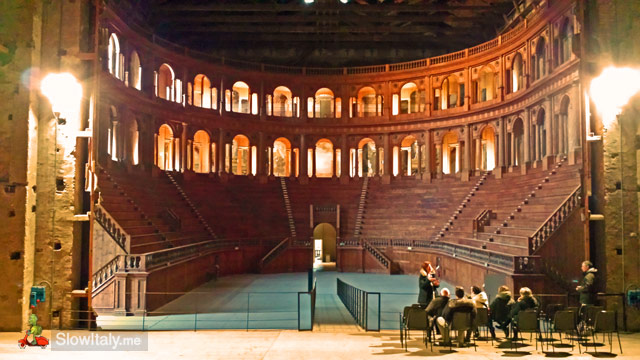Teatro Farnese, view from the stage