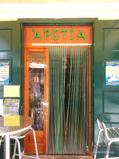 """A Putia"", Pisciotta (Campania). "" 'A putia"" in dialect means 'la bottega' (typical food shop)"
