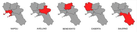 campania-provinces