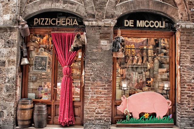 Pizzicheria, Siena (Tuscany)