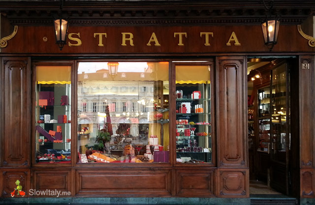 Typical chocolate and candy shop, Torino (Piedmont)