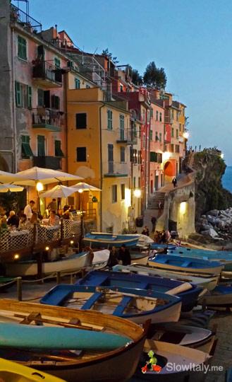 Riomaggiore. Photo Slow Italy.