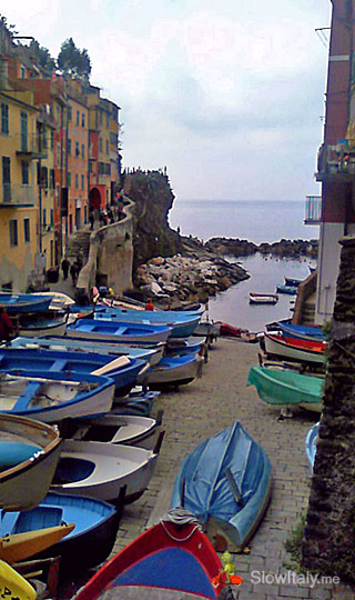 Riomaggiore. Photo Slow Italy.