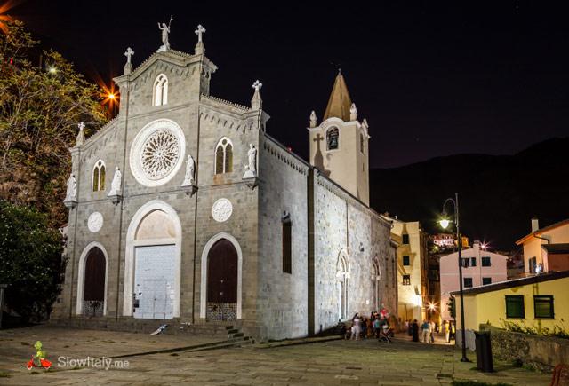 Riomaggiore Church Giovanni Battista.