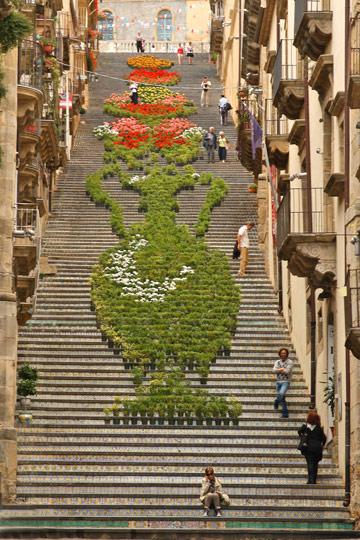 Caltagirone stairs. Photo © Nina Osmers