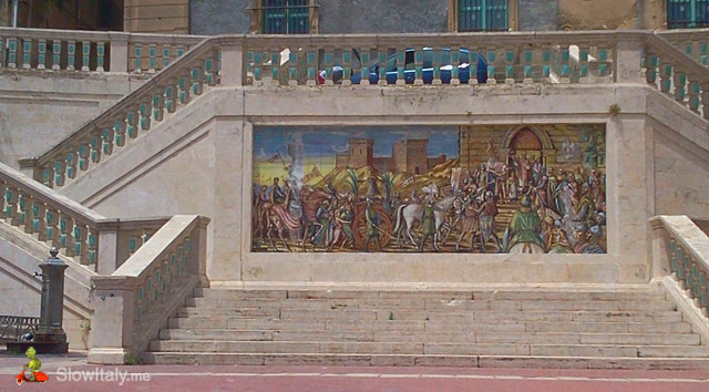 Top of the stairs, Caltagirone