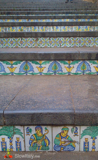 Caltagirone stairs detail