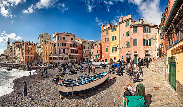 Boccadasse. Photo by Paolo Margari.