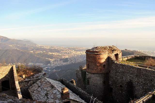 View from Forte Sperone. Photo by Walter Dellepiane.
