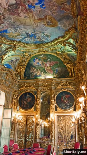 Galleria Dorata. Photo © Slow Italy.