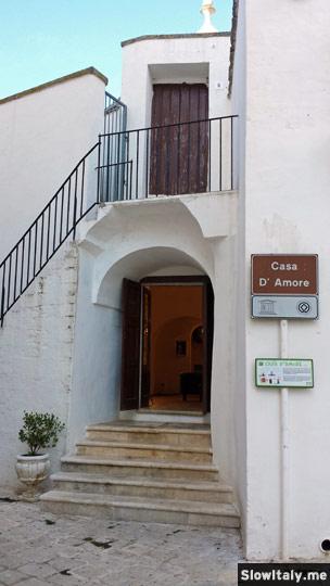 Casa d'Amore. Photo © Slow Italy.