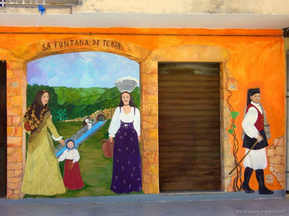 Bari Sardo. Photo by Murales in Sardegna.