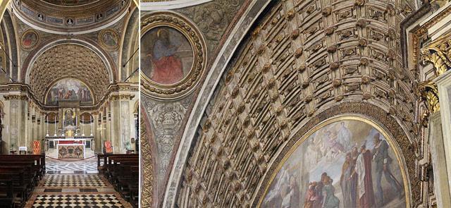 Faux perspective by Bramante, Santa Maria presso San Satiro, Milano. Photo by trevor.patt
