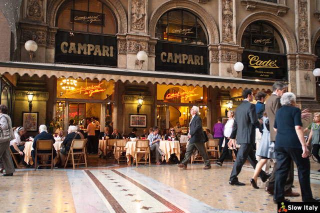 Caffè Camparino, Milano. Photo © befa.