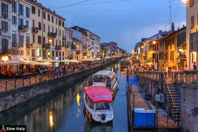 Navigli, Milano. Stock photo © repistu.