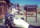 Alpine motorcycle road trip around the Mont Blanc