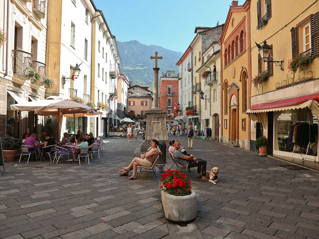Via Croix de Ville, Aosta.
